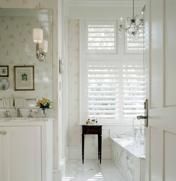 plantation shutters for bathroom privacy protection