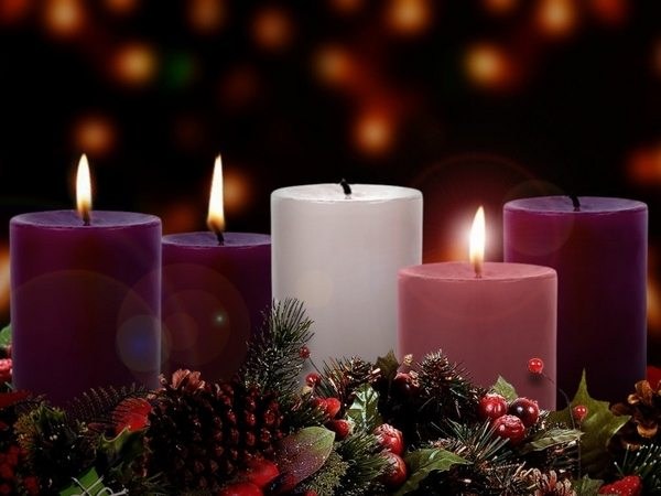 christmas decoration diy advent wreath candles christmas table