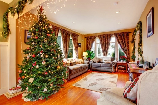 christmas decoration living room ideas real christmas tree decor