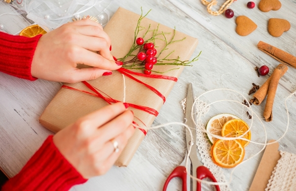 diy gifts christmas gift wrapping ideas natural materials