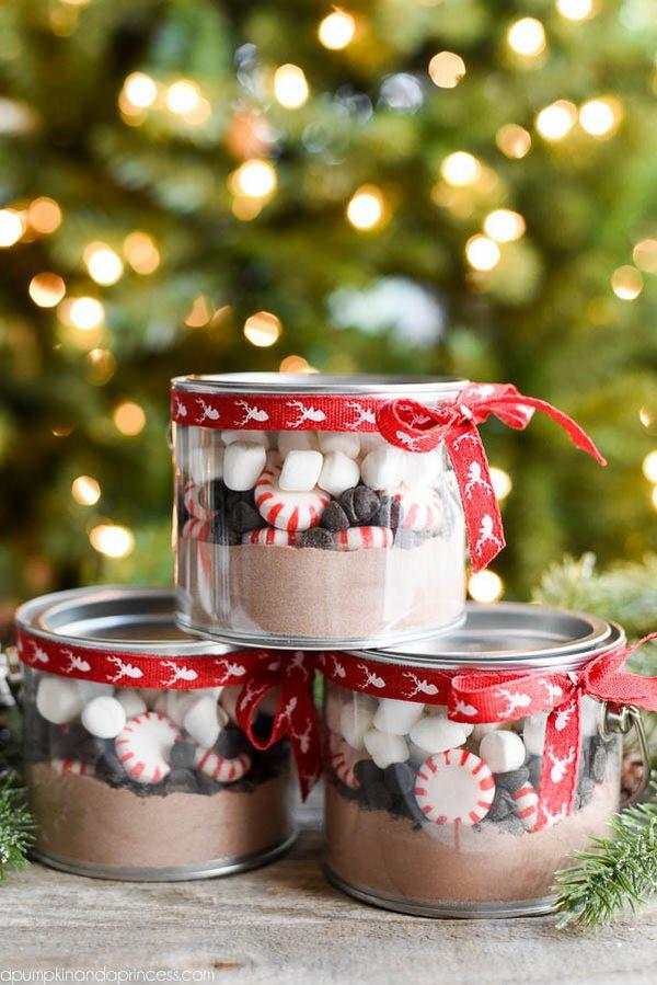 easy diy christmas gifts for teachers hot chocolate