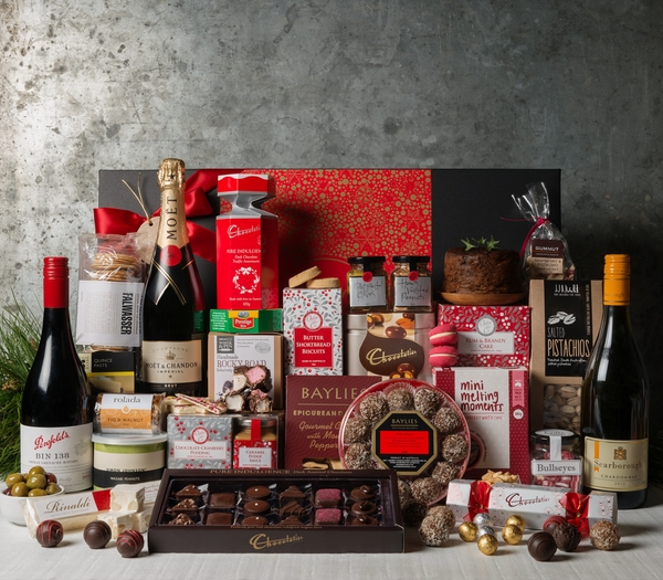 gourmet corporate christmas gift basket