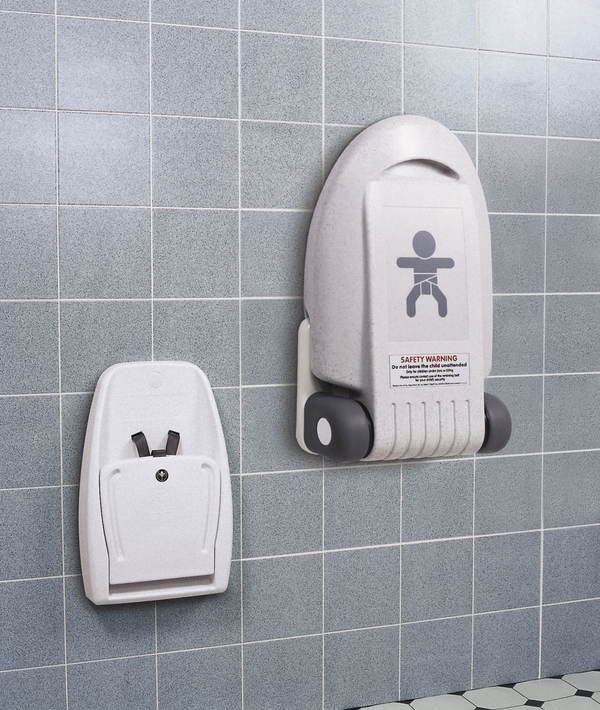 wall mounted baby changing station public restrooms diaper changing station