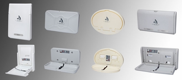 wall mounted baby changing stations for public restrooms