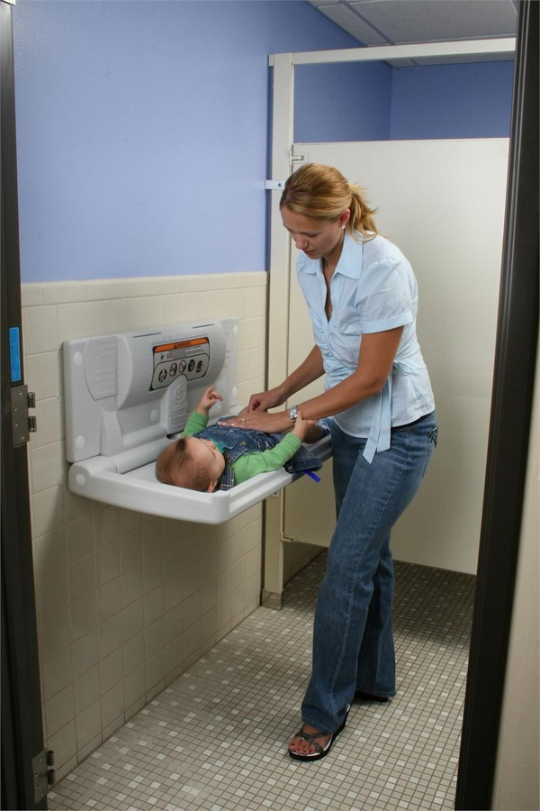 baby changing station horizontal baby changing table