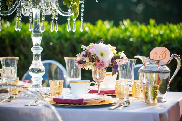 table decorating ideas afternoon tea garden party