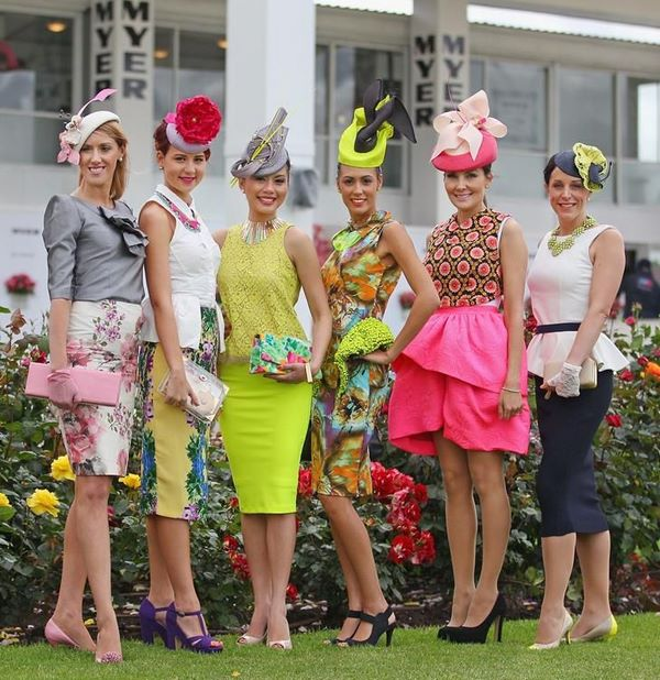 afternoon tea themes race day fashion bachelorette party