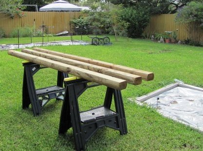 how to build a raised garden bed construction method