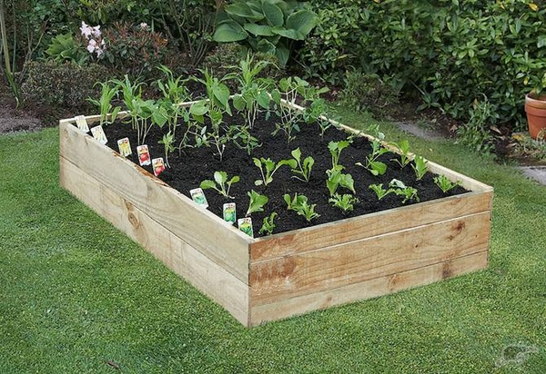 how to build a raised garden bed ideas design