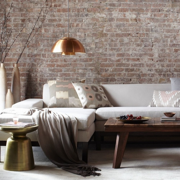 how-to-whitewash-brick-living-room-unverputzte-brick-walls-living-room