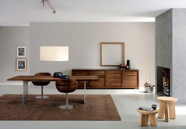 Contemporary-credenza-cabinet-modern dining room furniture ideas