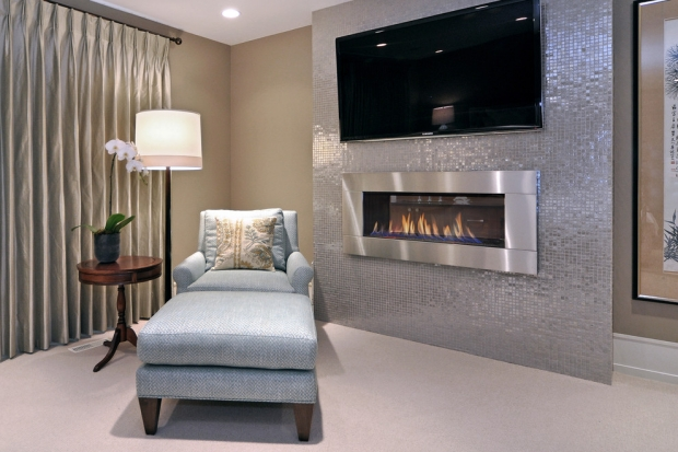 Contemporary-fireplace-surround-ideas-steel-tile-living-room
