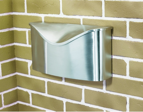 modern wall mounted mailboxes design steel
